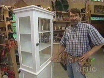 Beveled Glass Cupboard