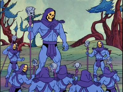 Here, There, Skeletors Everywhere