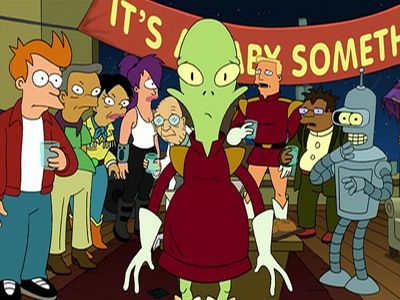 Kif Gets Knocked Up a Notch