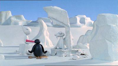 Pingu's Ice Sculptures