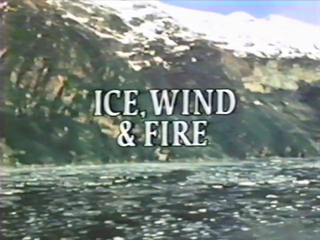 The Flight of the Condor: Ice, Wind, and Fire (1)