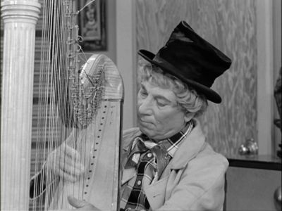 Lucy and Harpo Marx