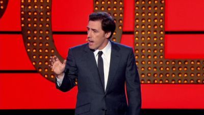 Rob Brydon, Sarah Millican and Jason Byrne