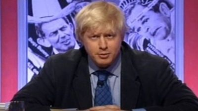 Boris Johnson, Stephen K. Amos, Clive Anderson