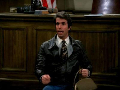Fonzie for the Defense