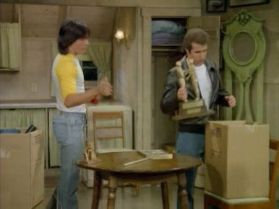 Fonzie Moves Out