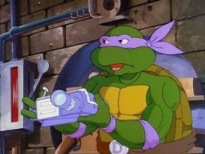 Donatello Makes Time