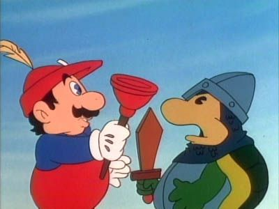 Hooded Robin and His Mario Men