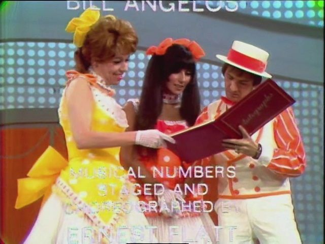 with Nanette Fabray, Sonny & Cher