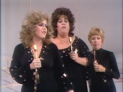 with Cass Elliot, Bernadette Peters