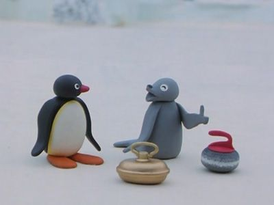 Pingu's Curling Game