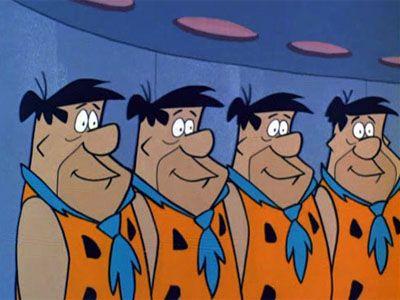 Ten Little Flintstones
