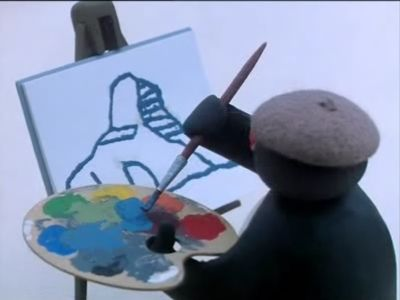 Pingu the Painter