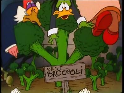 Duck and the Broccoli Stalk