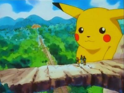 Island of the Giant Pokémon!