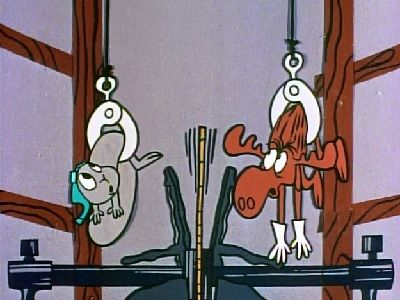 Rocky & Bullwinkle - Jet Fuel Formula (17) - Two for the Ripsaw... or Goodbye, Mr. Chips