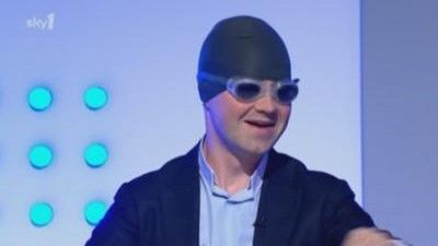 Jimmy Carr and Karen Pickering