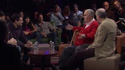Robert Klein, Jonathan Winters, and Rick Overton