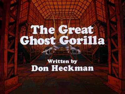 The Great Ghost Gorilla