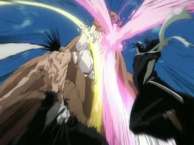 Byakuya vs. Kenpachi?! The Melee Commences