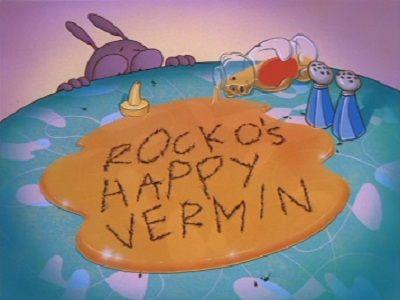 Rocko's Happy Vermin