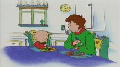Caillou Hates Vegetables