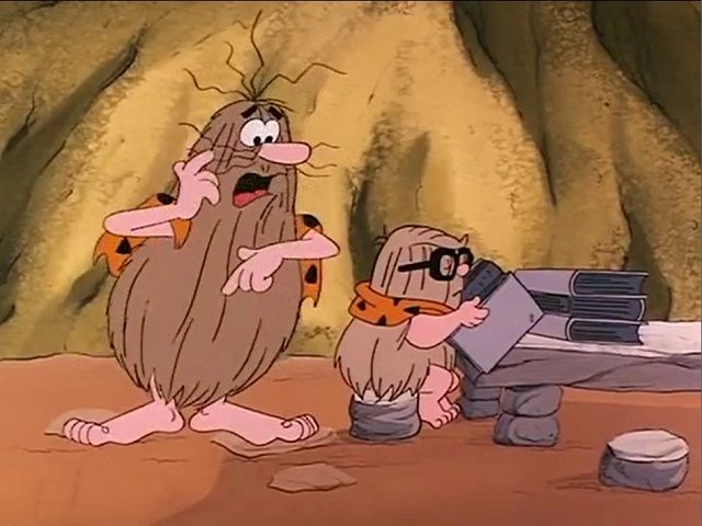 I Was a Teenage Grown-Up (Captain Caveman and Son)