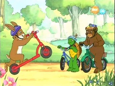 Franklin and the Red Scooter