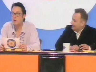 Anneka Rice, Dave Lee Travis, Ardal O'Hanlon, Carol Vorderman