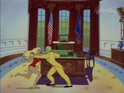 Mr. Mask Goes to Washington