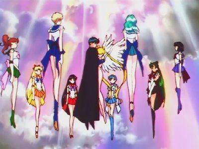 Usagi's Love! The Moonlight Illuminates the Galaxy