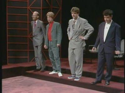 Ron West, Jimmy Mulville, Paul Merton, John Sessions