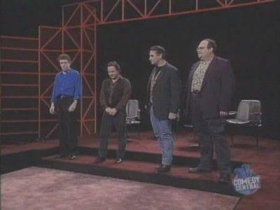 Jim Sweeney, Steve Steen, Tony Slattery, Mike McShane