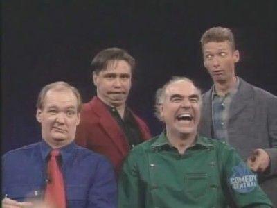 Steve Frost, Colin Mochrie, Ryan Stiles, Tony Slattery