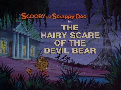 The Hairy Scare of the Devil Bear