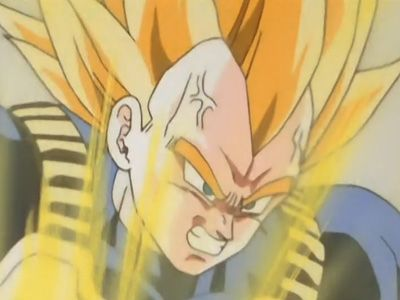 Super Saiyan Surpassed! The Daring Vegeta Strikes Cell
