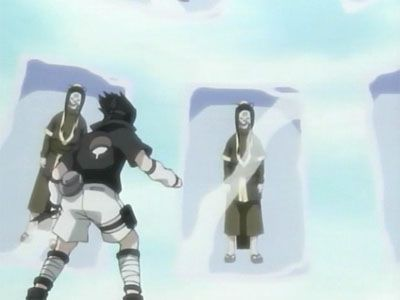 Haku's Secret Jutsu: Demonic Mirroring Ice Crystals