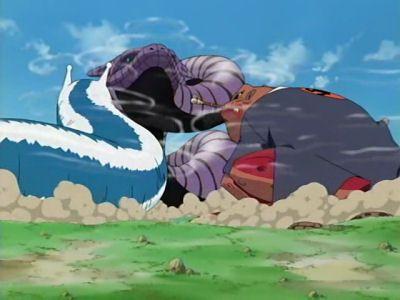 Three-way Battle! Tsunade and Jiraiya vs. Orochimaru!