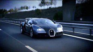 The Bugatti and the plane