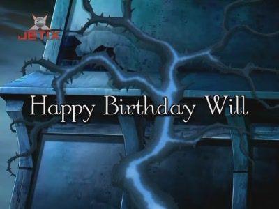 Happy Birthday, Will