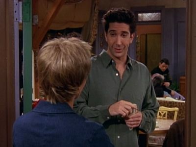 The One Where Ross Can't Flirt