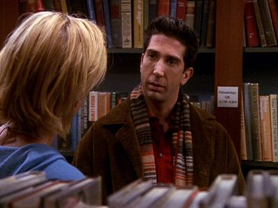 The One with Ross's Library Book