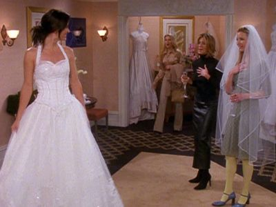 The One With The Cheap Wedding Dress