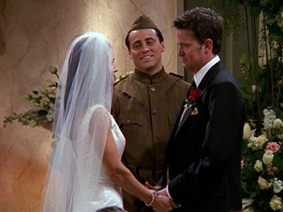 The One With Chandler And Monica's Wedding: Part 2