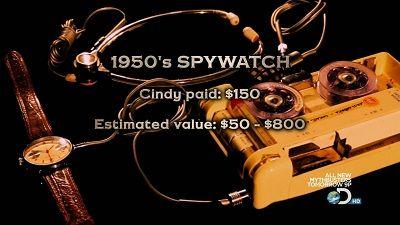 Spy Watch/Model A