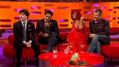 Colin Farrell, Daniel Radcliffe, Rhod Gilbert, Rihanna