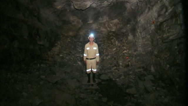South Africa's Mponeng Gold Mine