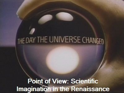 Point of View: Scientific Imagination in the Renaissance