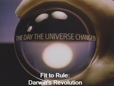 Fit to Rule: Darwin's Revolution