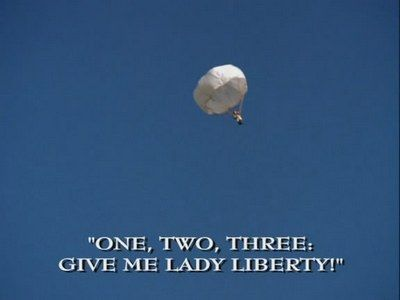 One, Two, Three: Give Me Lady Liberty!